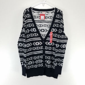 Mossimo XXL Cardigan Sweater Button Up